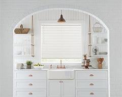 Custom Parkland Wood Blinds for Homes in Lincoln and Omaha, Nebraska (NE) for Kitchen Style