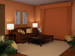 Cadence Soft Vertical Blinds for Homes & Living Rooms in Omaha, Elkhorn & Lincoln, Nebraska (NE)