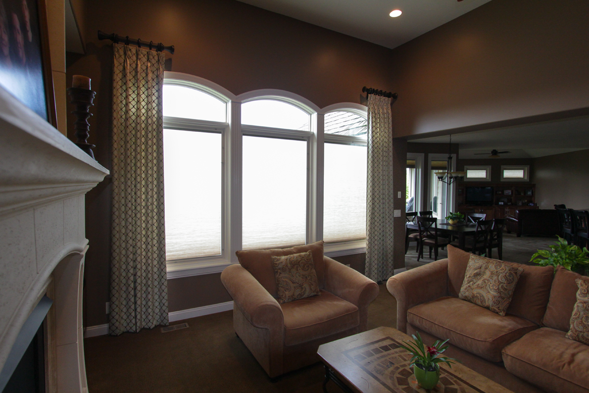 window treatments valances draperies and door industrial top drapery omaha best custom blinds shades