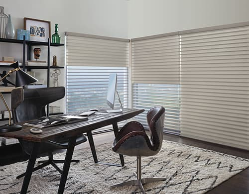 Home Choices for Operating Motorized Shades in Lincoln, Nebraska (NE) like Silhouette with PowerView for Offices