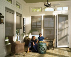 Hunter Douglas Roller Shades for Sunrooms in Lincoln & Omaha, Nebraska (NE)