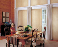 Applause Vertiglide Honeycomb Shades for Homes & Dining Rooms in Omaha, Elkhorn & Lincoln, Nebraska (NE)