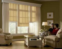 Designer Roller Shades for Homes & Living Rooms in Omaha, Elkhorn & Lincoln, Nebraska (NE)