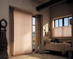 Duette Vertiglide Honeycomb Shades for Homes & Living Rooms in Omaha, Elkhorn & Lincoln, Nebraska (NE)