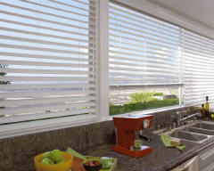 Hunter Douglas Horizontal Blinds for Kitchens in Lincoln & Omaha, Nebraska (NE)