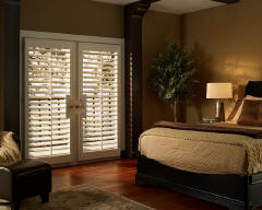 Hunter Douglas Shutters for Bedrooms in Lincoln & Omaha, Nebraska (NE)