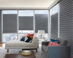 Solera Soft Shades for Living Room Window Treatments in Lincoln & Omaha, Nebraska (NE)