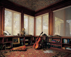 Hunter Douglas Horizontal shades for Home Offices in Lincoln & Omaha, Nebraska (NE)
