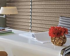 Custom Vignette Modern Roman Shades in Omaha, Nebraska (NE) for Style and Easy Operation in Offices