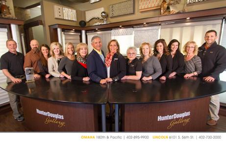 Our Custom Window Treatment Staff In Lincoln Omaha Nebraska