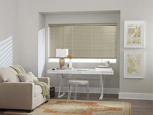 Custom Blinds for Study Rooms in Omaha, Nebraska (NE) Homes.