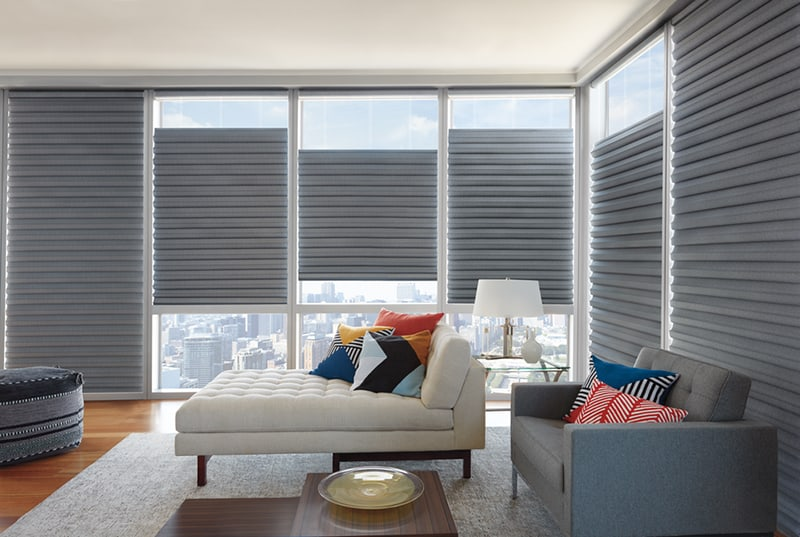 Solera Soft Shades for Living Room Window Treatments in Lincoln & Omaha, Nebraska (NE)