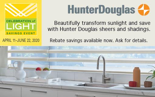 Hunter Douglas Promo
